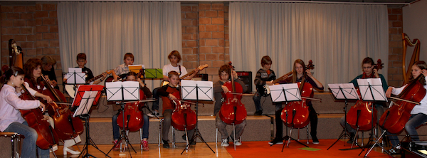 Celloensemble der Musikschule